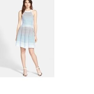 Parker Lorraine Knit Fit & Flare Dress Small NEW